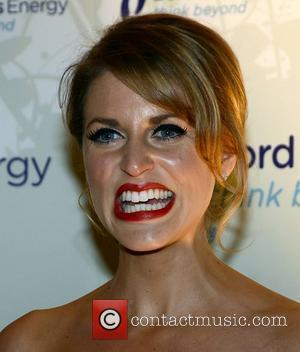 Amy Huberman,  at the Bord Gais Energy Irish Book Awards 2010 held at The Mansion House - Arrivals Dublin,...