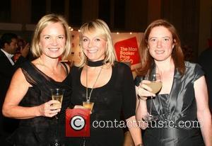 Mariella Frostrup and Guests attend the 2010 Man Booker Prize dinner at Guildhall  London, England - 12.10.10