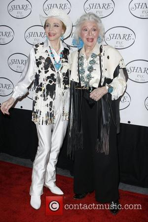 Anne Jeffreys and Ann Rutherford The Share Boomtown Gala 2010 held at Santa Monica Civic Auditorium Santa Monica, California -...