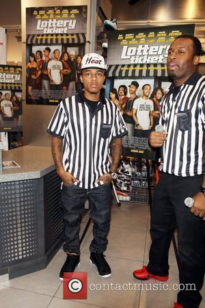 Bow Wow  promotes 'Lottery Ticket' at Foot Locker, Herald Square New York City, USA - 16.08.10