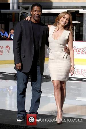 Denzel Washington and Jennifer Lopez