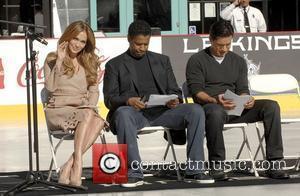 Jennifer Lopez, Denzel Washington and Mario Lopez