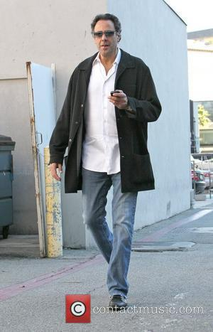 Brad Garrett shopping at Theodore on Camden picking his teeth with a toothpick. Los Angeles, California - 06.12.10