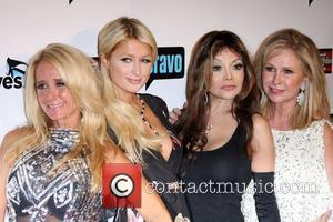 Kim Richards, Kathy Hilton, La Toya Jackson, Paris Hilton and Real Housewives