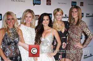 Kim Richards, Kathy Hilton, Nicky Hilton, Paris Hilton and Real Housewives