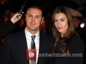 Paddy McGuinness and guest The BRIT Awards 2010 - 30th Anniversary held at Earl's Court - Arrivals London, England -...