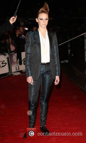 Eleanor Jackson from La Roux The BRIT Awards 2010 - 30th Anniversary held at Earl's Court - Arrivals London, England...