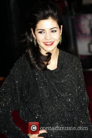 Marina Diamondis of Marina and the Diamonds The BRIT Awards 2010 - 30th Anniversary  held at Earl's Court -...