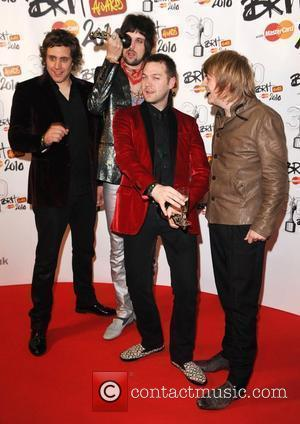Kasabian Celebrate Brit Award With Charity Gig