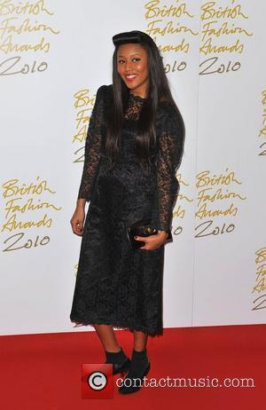 VV Brown The British Fashion Awards held at the Savoy - Arrivals. London, England - 7.12.10