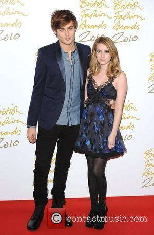 Emma Roberts and Douglas Booth