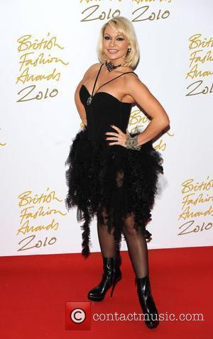Kristina Rihanoff The British Fashion Awards held at the Savoy - Arrivals. London, England - 07.12.10