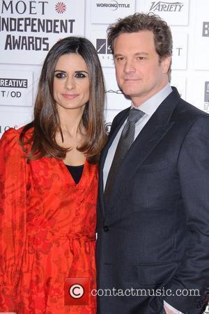 Firth's Wife Keeps Him Down To Earth