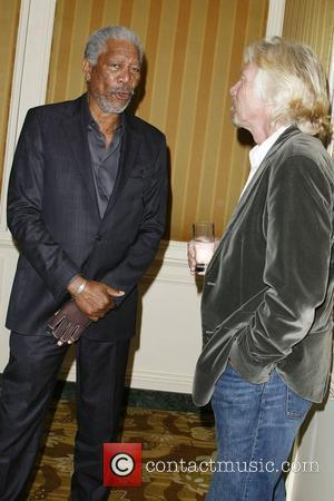 Morgan Freeman and Sir Richard Branson