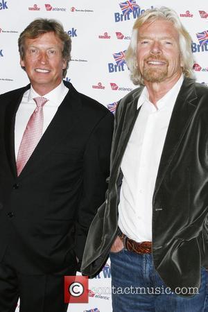 Nigel Lythgoe and Sir Richard Bronson