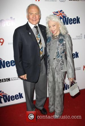Buzz Aldrin, Lois Aldrin Champagne Launch of BritWeek at the Consul General's Official Residence Celebrating BritWeek 2010 - Arrivals Los...