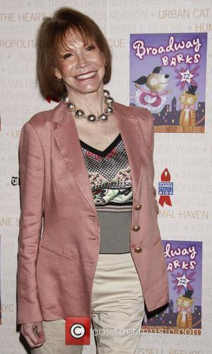 Mary Tyler Moore Broadway Barks: The 12th Annual Dog and Cat Adopt-a-thon held in Shubert Alley. New York City, USA...
