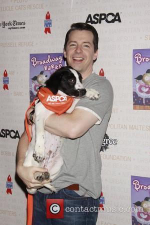 Sean Hayes Broadway Barks: The 12th Annual Dog and Cat Adopt-a-thon held in Shubert Alley. New York City, USA -...