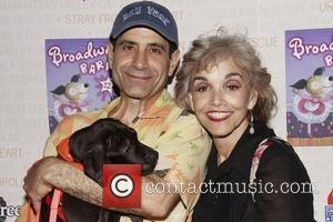 Tony Shalhoub and Brooke Adams Broadway Barks: The 12th Annual Dog and Cat Adopt-a-thon held in Shubert Alley. New York...