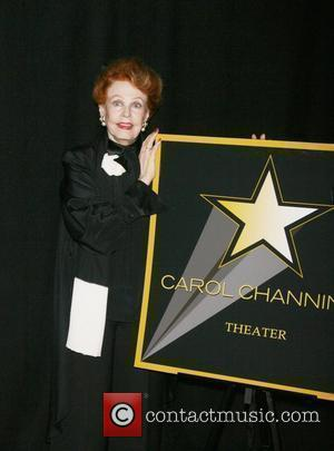 Arlene Dahl attending a special cocktail party to launch the Broadway Walk of Stars at the NASDAQ building in New...