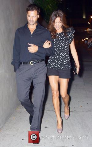 Brooke Burke and David Charvet leave Trousdale nightclub arm in arm Los Angeles, California - 04.11.10