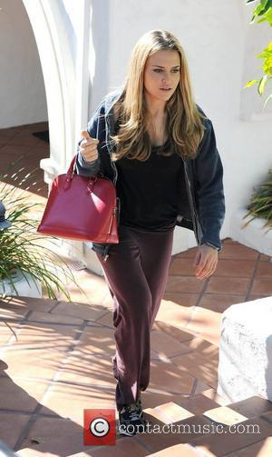 Brooke Mueller arriving at Nicky Hilton's house filming her reality TV show. Los Angeles, California - 18.01.11