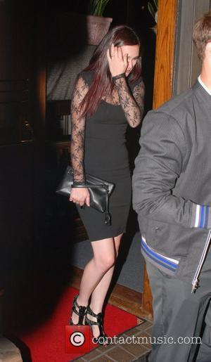 Rumer Willis Celebrities leaving Madeos restaurant in West Hollywood.  Los Angeles, California - 03.08.10