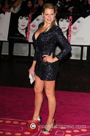 Abi Titmuss  'Burlesque' UK film premiere at Empire Leicester Square London, England - 13.12.10