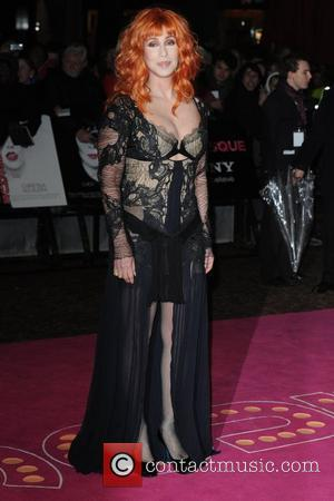Cher UK film premiere of 'Burlesque' held at the Empire Leicester Square - Arrivals London, England - 13.11.10
