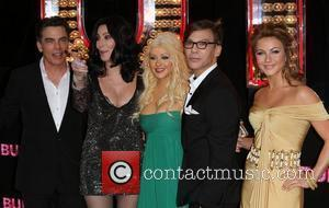 Peter Gallagher, Christina Aguilera, Julianne Hough and Steven Antin