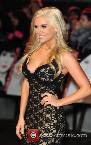 Kayla Collins Burlesque - UK film premiere held at the Empire Leicester Square - Arrivals. London, England - 13.11.10