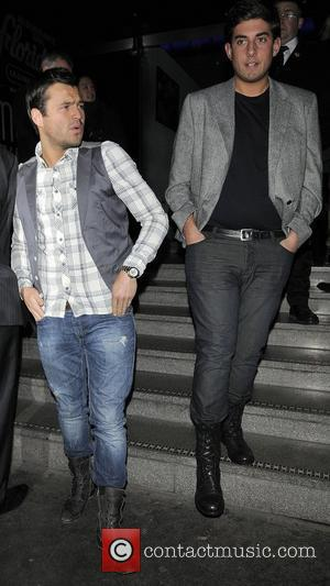 The Only Way Is Essex Star Mark Wright and James Argent leaving the Burlesque after show party. London, England -...