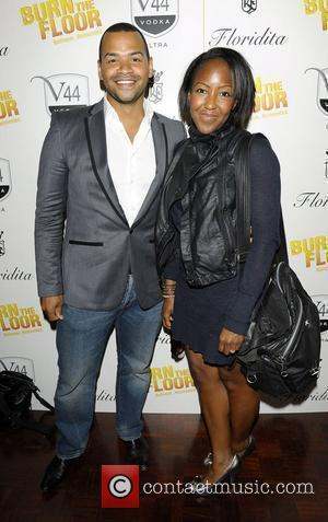 Michael Underwood and Angelica Bell Burn The Floor press night at the Shaftesbury Theatre London, England - 26.07.10