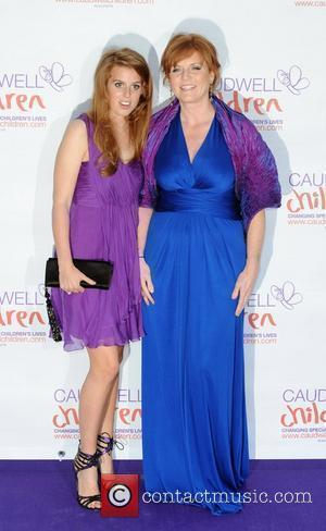 Sarah Ferguson and Princess Beatrice The Caudwell Children Butterfly Ball held at the Battersea Evolution. London, England - 20.05.10