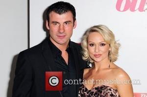 Joe Calzaghe & Kristina Rihanoff,  attends The Sun's new magazine 'Buzz' launch at Il Bottacio London, England - 15.09.10