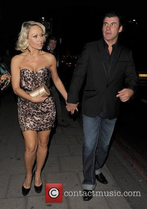 Kristina Rihanoff and Joe Calzaghe The Sun's new magazine 'Buzz' launch at Il Bottacio - Departures London, England - 15.09.10