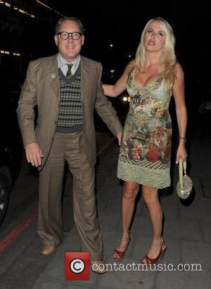 Vic Reeves and Nancy Sorrell The Sun's new magazine 'Buzz' launch at Il Bottacio - Departures London, England - 15.09.10