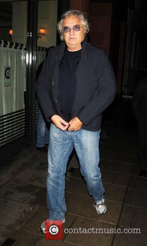 Flavio Briatore leaving C London restaurant London, England - 26.10.10