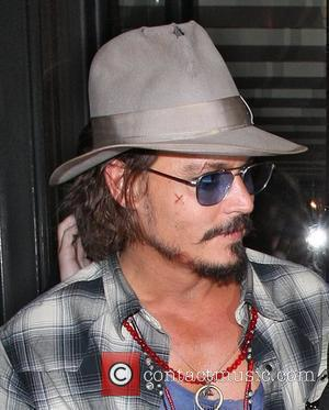 Johnny Depp and Leaves