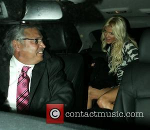 Victoria Silvstedt leaves C London restaurant London, England - 14.10.10