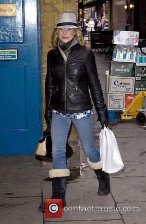 Hannah Waterman arriving at the Noel Coward Theatre to appear in 'Calendar Girls' London, England - 19.12.09