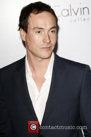 Chris Klein Calvin Klein Collection & Los Angeles Nomadic Division (LAND) 1st Annual Celebration For L.A. Arts Monthly and Art...