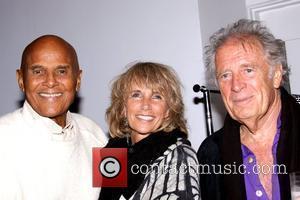 Harry Belafonte, Pamela Belafonte and Chris Blackwell