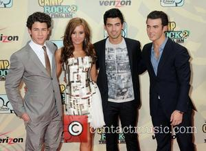 Nick Jonas, Joe Jonas, Demi Lovato and Kevin Jonas World Premiere of 'Camp Rock II: The Final Jam' held at...