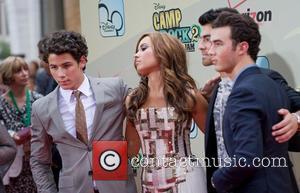 Nick Jonas, Demi Lovato, Kevin Jonas, Joe Jonas World Premiere of 'Camp Rock II: The Final Jam' held at Alice...