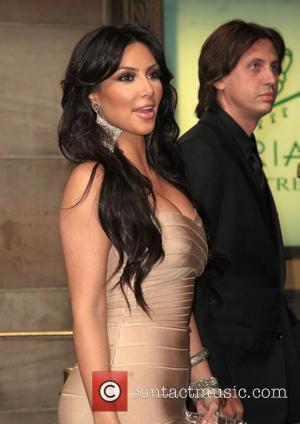 Kim Kardashian and Carmelo Anthony