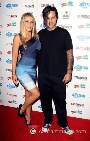 Carmen Electra and Rob Patterson