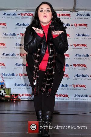 Nikki Blonsky Marshalls & TJ Maxx's 'Carol-oke' contest, held in Bryant Park New York City, USA - 03.12.09