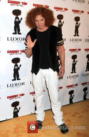 Carrot Top Carrot Top Celebrates Five Years at The Luxor Resort and Casino  Las Vegas, Nevada - 20.12.10