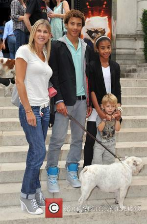 Sharron Davies Cats & Dogs 2: The Revenge Of Kitty Galore - celebrity screening held at the Holland Park Theatre....
